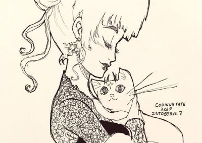 A Witch and her Cat